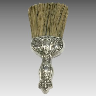 Sterling Silver Whisk Broom c. 1890-1900