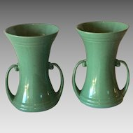 Pr. Of Abingdon Art Pottery Vases
