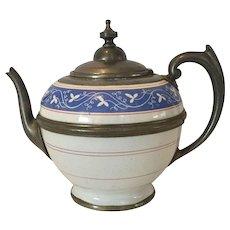 American Graniteware Teapot c. 1890