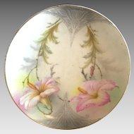 Hand Painted Art Nouveau Period Plate
