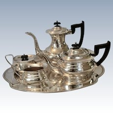 Sheffield Mid Century 5 pc. Silverplate Tea Set