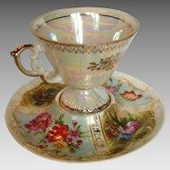 Austrian Cup and Saucer Circa 1900
