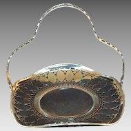 Vintage Silverplate Cake Basket