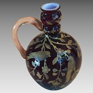 Webb of England Art Glass Vase c.1880