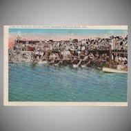 Very Rare Isle of Caprice Marathon Biloxi Postcard c. 1920s
