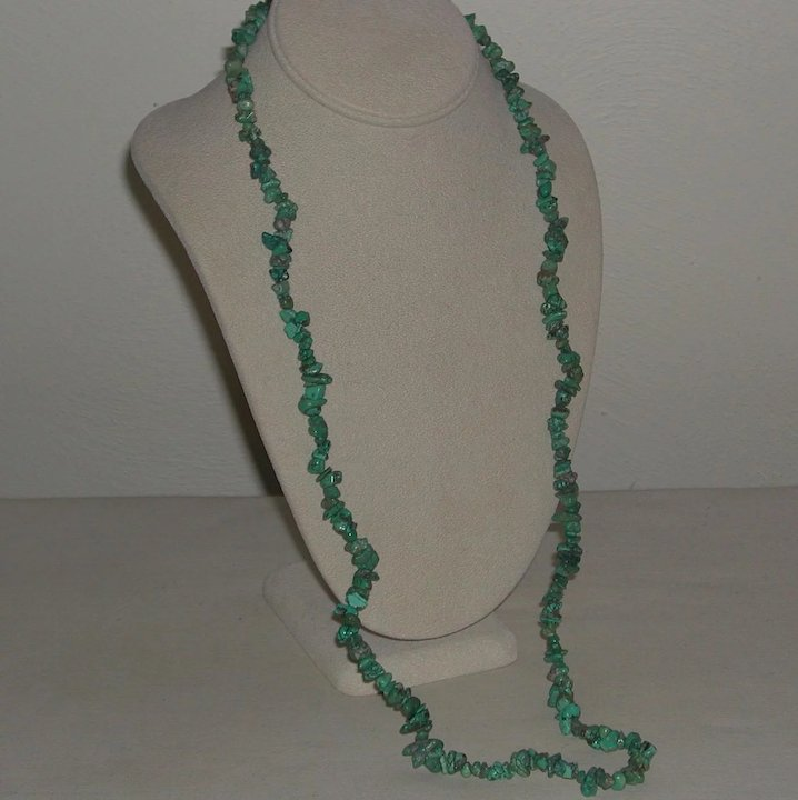 necklace gemstone toggle howlite clasp chip see product image lot turquoise larger beads