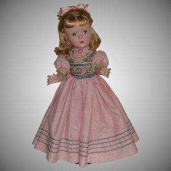 Vintage Madame Alexander Doll Little Women Series Amy 14 inches c. 1954