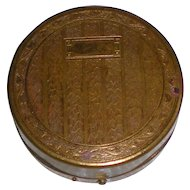 Meyer Bros Drug Co. Powder and Rouge Compact