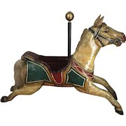 . Antique English carousel horse circa 18 90–19 30 Kitty Size Jumper!