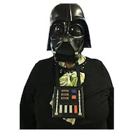 Vintage Darth Vader Star Wars talking mask 1977!