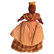 """5""""  Black Nanny for Dollhouse! 1930 or 40's"""