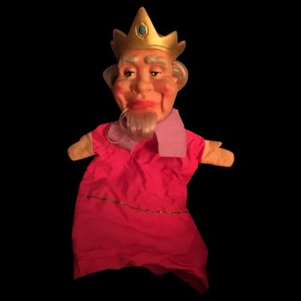 King Friday Puppet from Mr Rogers!