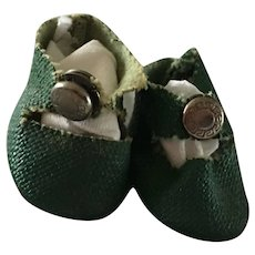 Ginny Green  centersnap Shoes 1950's