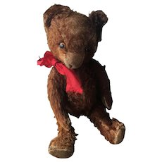 Rare Chocolate Mohair Antique Bear!