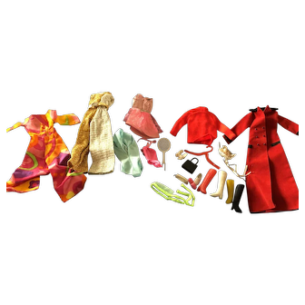 Misc  Barbie Clothes! All Vintage 60's!