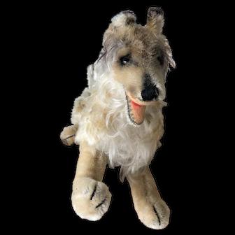 """Steiff Collie Mohair  12"""" Very Fluffy!!"""