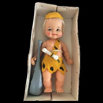 Wow! Mint Bam Bam Flintstones In Box!