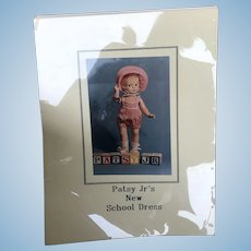 Hard to find Patsy Moyer Patsy Jr Book