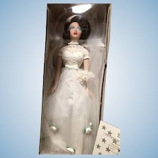 Never removed from box Gene Doll White Dress!!