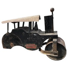 Keystone steam roller -60 antique riding toy !