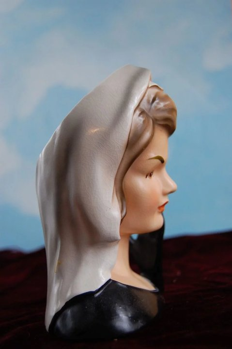 Rare Jacqueline Kennedy Head Vase Not Many Made 1964 Aunt