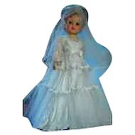 "Fab! 26"" 1950 Bride Doll!! She Is Beautiful!!!And all Original!!! Blond High Color!"