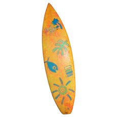 """Vintage-6'4""""-Tri-Fin-local-Motion-Surfboard-Nice-Airbrush  Vintage"""