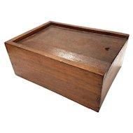 Walnut Candle Box