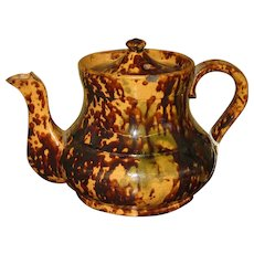 19th Century Pottery Tea Pot.