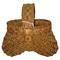 Valley of Virginia or East Tennessee Buttuock Basket