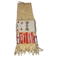 Authentic Plains Indians Tobacco Pouch