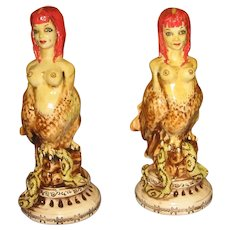 Pair of Stacey Lambert Figurines