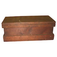 Southern Walnut Document Box