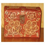 Folk Art Compass Box