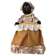 Folk Art Black Mammy Doll