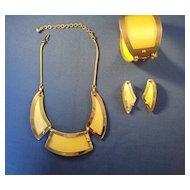LERU Necklace, Bracelet, Earring Set