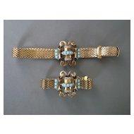 Kreisler Quality  Retro Mesh Necklace and Bracelet