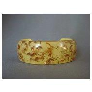 Confetti Lucite Cuff Bracelet