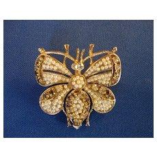 Butterfly Pin - Joseph Weisner