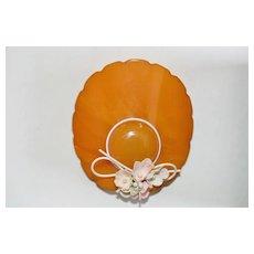 Wide-Brimmed Bakelite Hat Pin