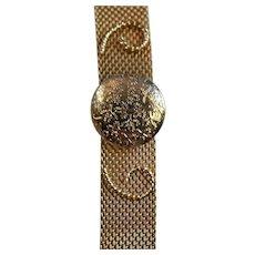 Locket Mesh Bracelet