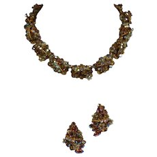 'Original by Robert' Necklace and Earrings Demi-Parure