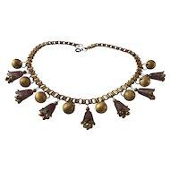 Victorian Plastic Necklace