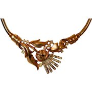 Thistle Necklace by Crown Trifari