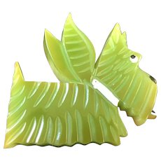 Scottie Dog Angel Pin