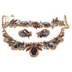 Lavish Juliana Parure Necklace, Bracelet, and Earrings