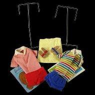 Vintage Ken and Allan Stands, Swim Suits, Sandals & Accessories