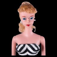 Vintage #4 Ponytail Barbie by Mattel