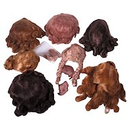 Vintage Madame Alexander Wigs Cissy, Maggie, Elise, Margot Plus Others
