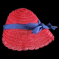 Vintage Shirley Temple Hat by Ideal